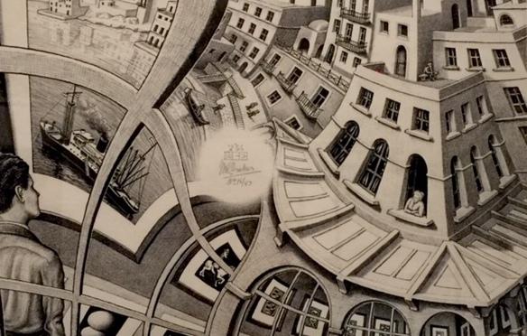 Escher X Nendo